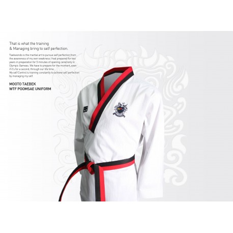 TAEBEK POOMSAE High Poom Uniform